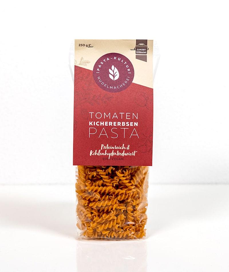 Tomaten Kichererbsen Pasta